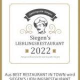 Siegen's Lieblingsrestaurant 2022